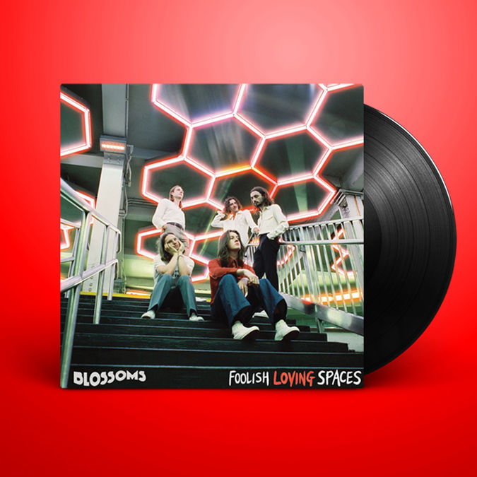 Blossoms: Foolish Loving Spaces Signed LP