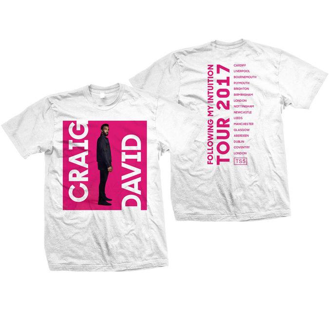 Craig David: FMI Deluxe Dateback T-Shirt