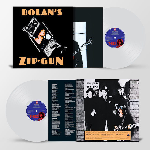 T. Rex: Bolan's Zip Gun: Limited Edition Clear Vinyl