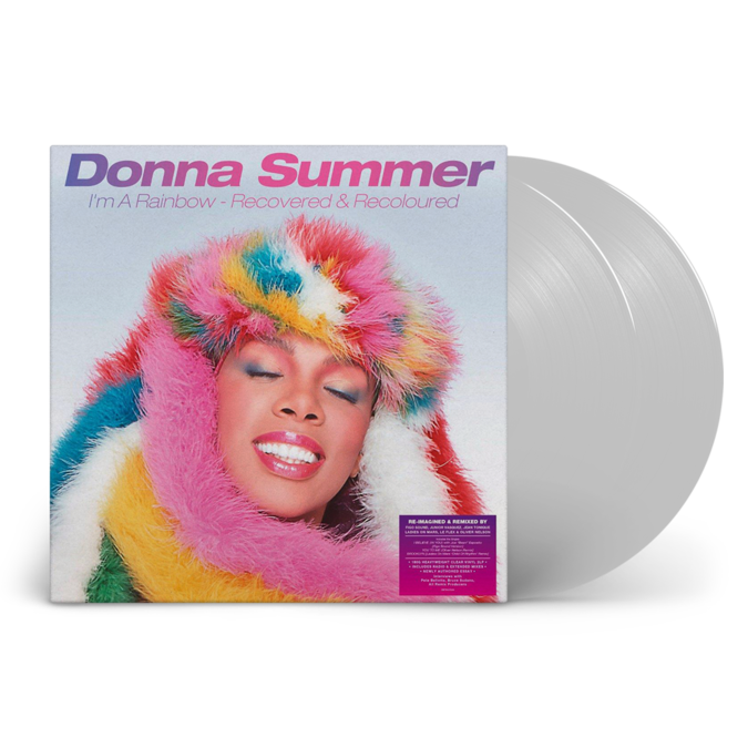 Donna Summer: I'm A Rainbow - Recovered and Recoloured: Limited Edition Clear Vinyl
