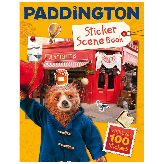 Paddington Bear: Paddington: Sticker Scene Book