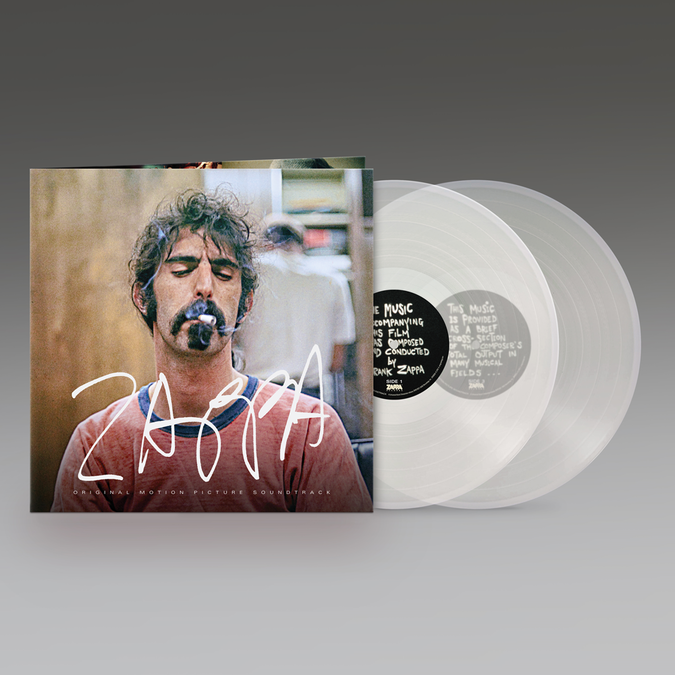 Frank Zappa: ZAPPA (Original Motion Picture Soundtrack): Limited Edition Crystal Clear Vinyl