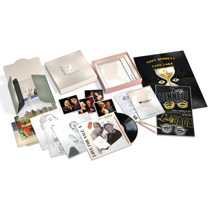 Tony Bennett & Lady Gaga: Love For Sale Limited Edition Vinyl Box Set