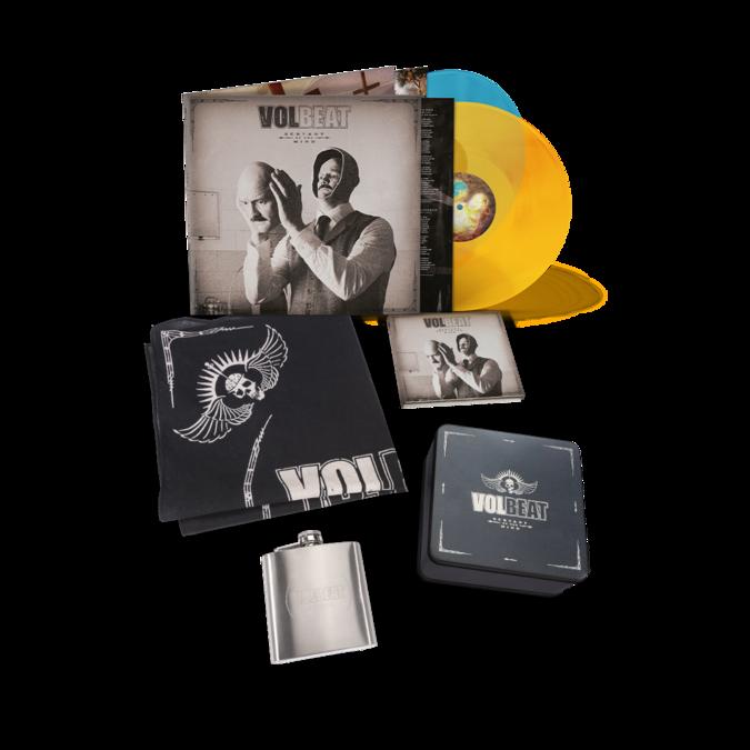 Volbeat: Servants Of The Mind: Box Set, Ltd Coloured 2LP & Signed Art Card