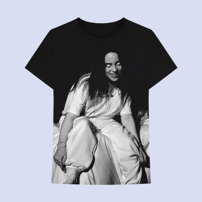 Billie Eilish: Where Do We Go? Jumbo Print T-shirt