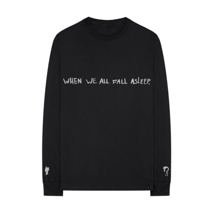 Billie Eilish: asleep longsleeve