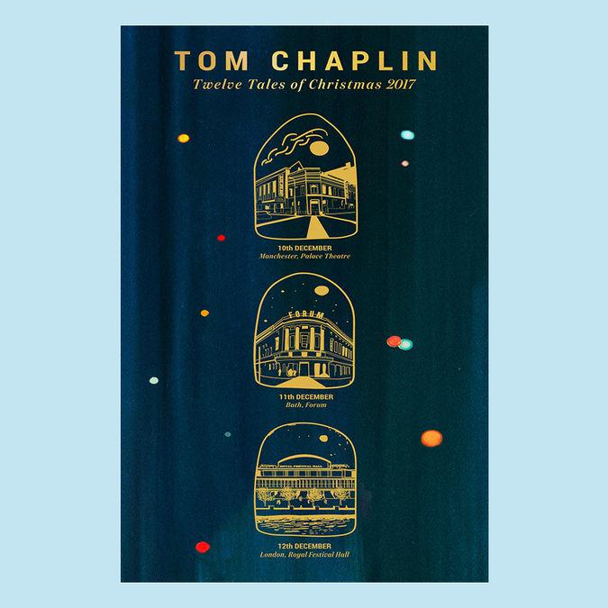 Tom Chaplin: Twelve Tales of Christmas 2017 Tour Poster