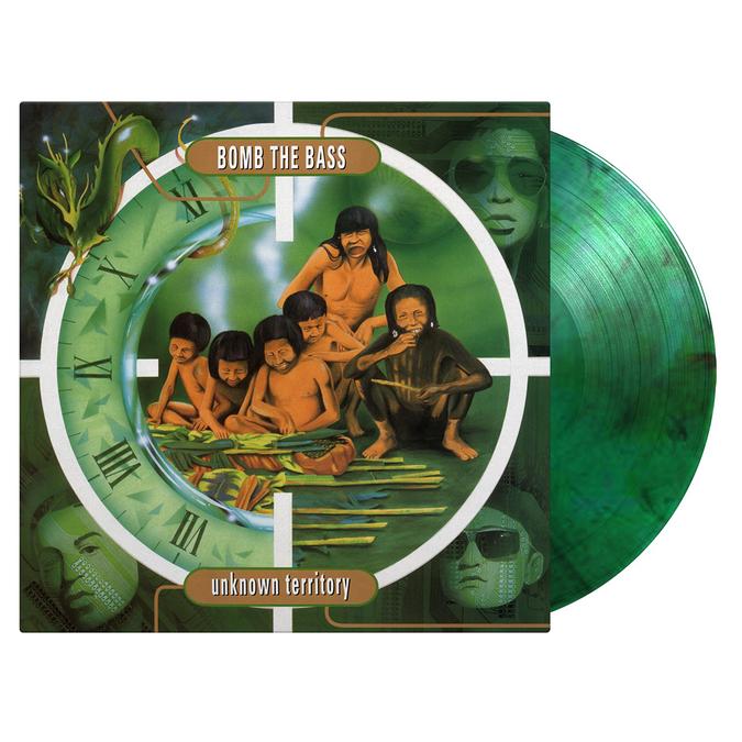 Bomb The Bass: Unknown Territory: Limited Green & Black Swirl Vinyl