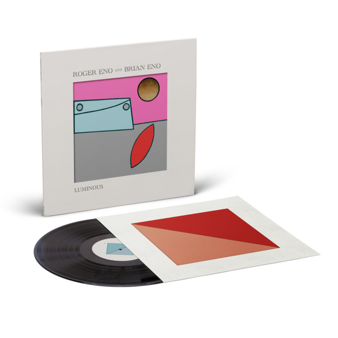 Roger Eno & Brian Eno: Luminous: Black Vinyl