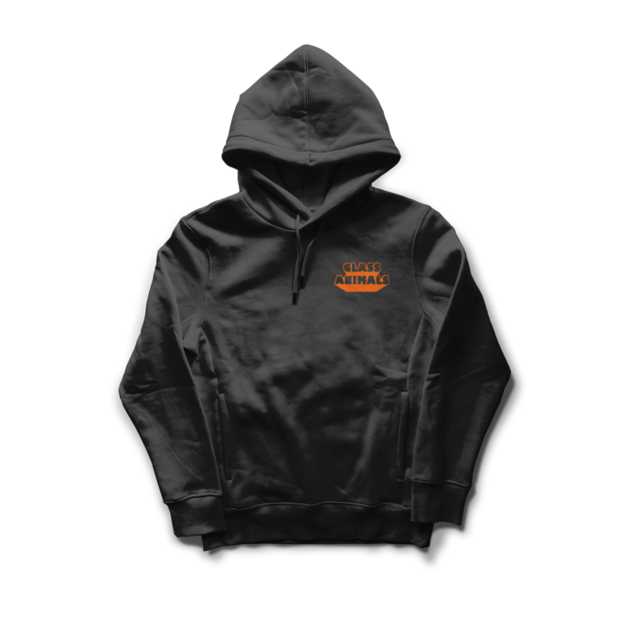 Glass Animals: Road Shimmer Black Hoodie