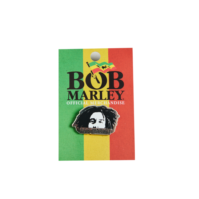 Bob Marley: Face Enamel Pin
