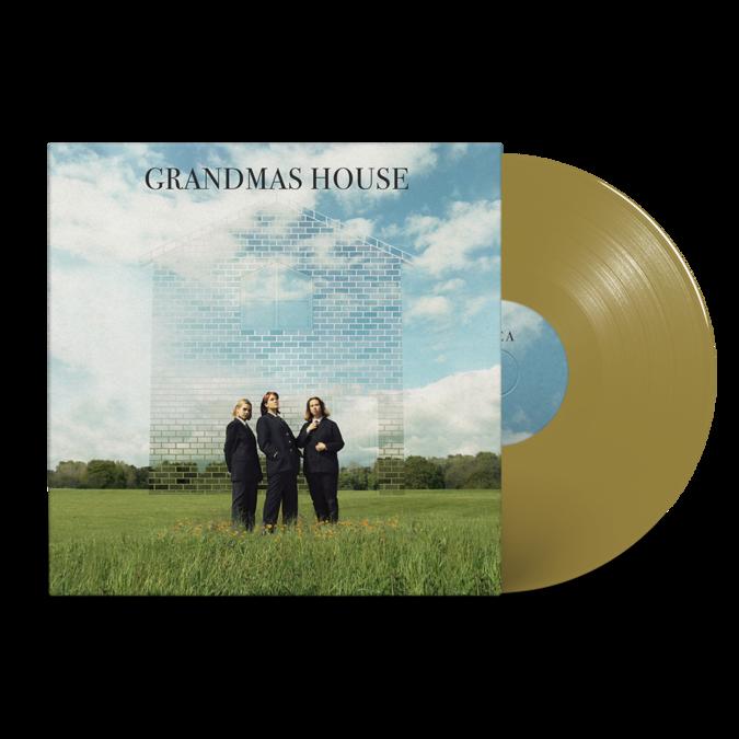 "Grandmas House: Grandmas House: Signed Gold 7"" Vinyl"