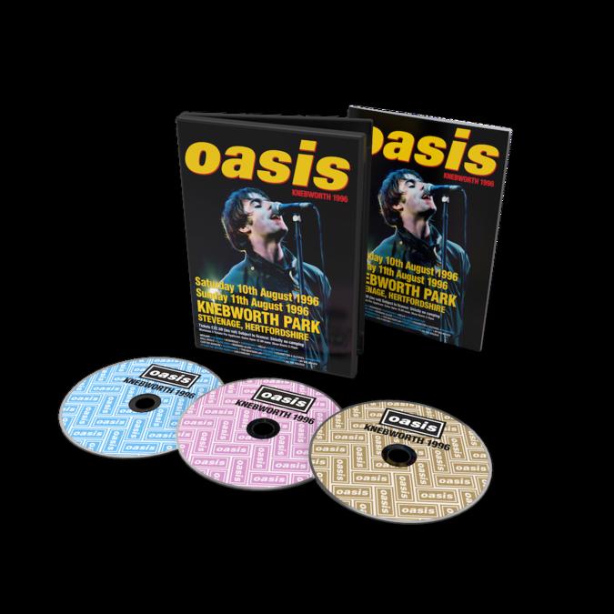 Oasis: Knebworth 1996: Triple DVD