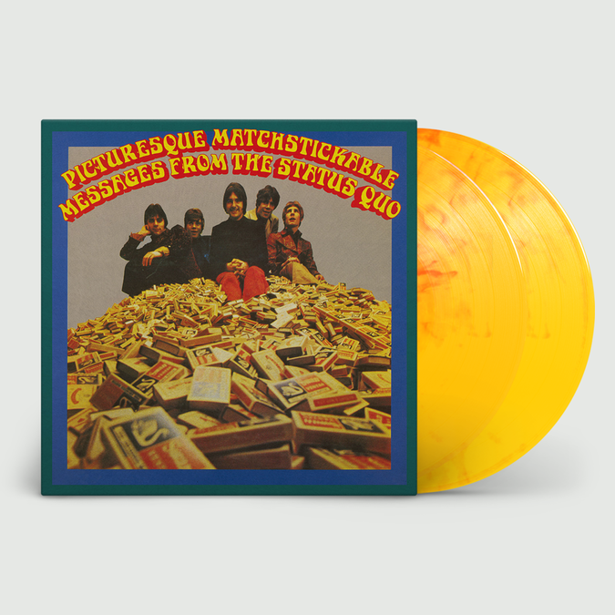 Status Quo: Pictuersque Matchstickable Messages From The Status Quo (Mono & Stereo): Limited Edition Flaming Orange Vinyl