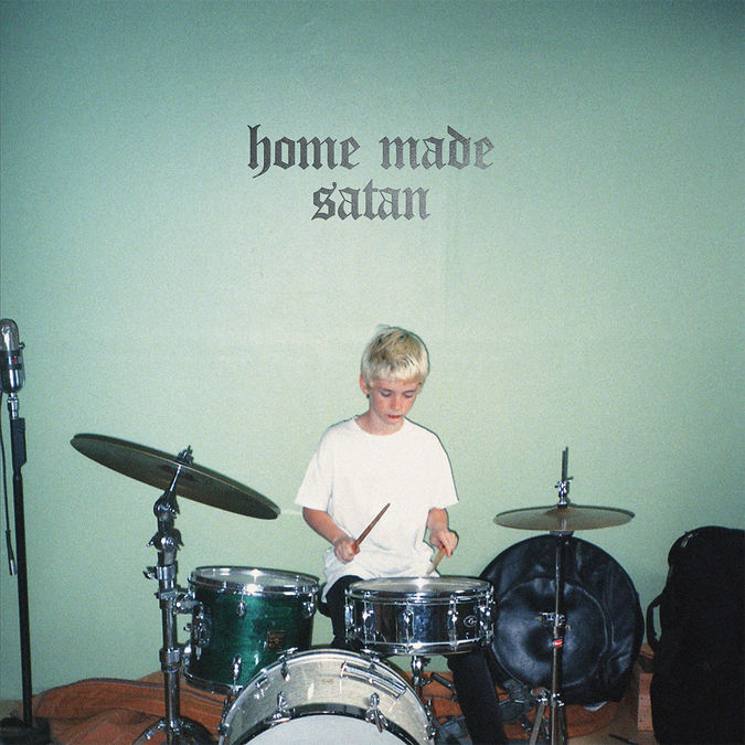 Chastity: Home Made Satan: Vinyl with Signed Postcard