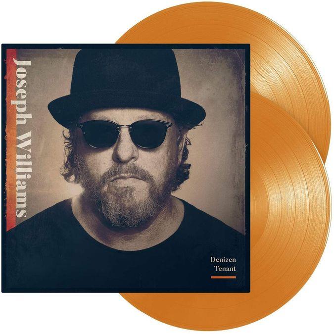 Joseph Williams: Denizen Tenant: Orange Transparent Vinyl