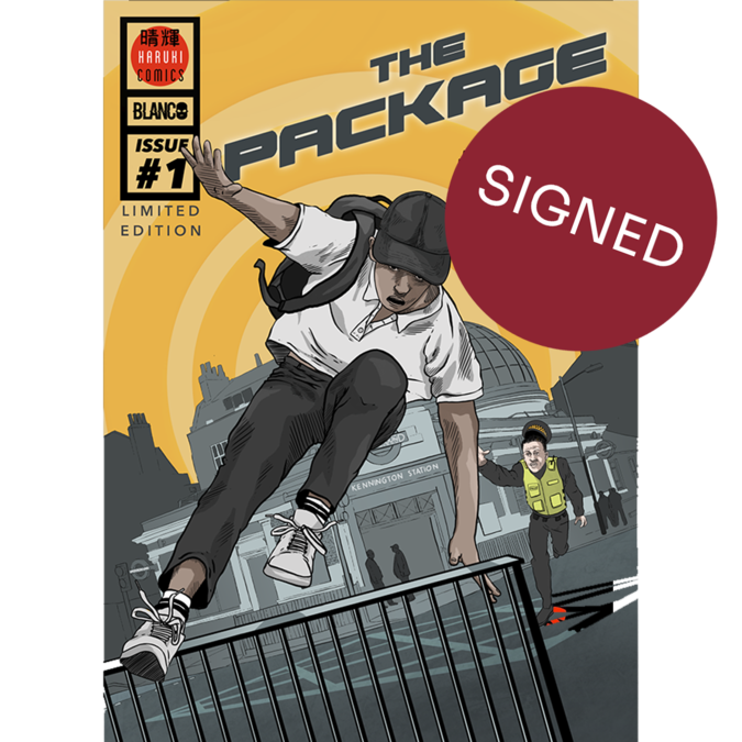 Blanco: The Package *SIGNED* Comic Book