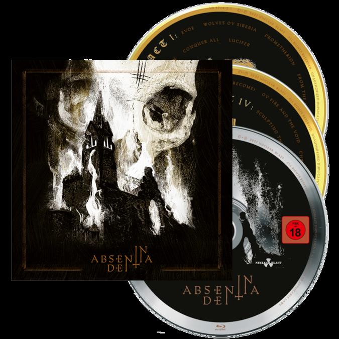 Behemoth: In Absentia Dei: 2CD/Blu-Ray