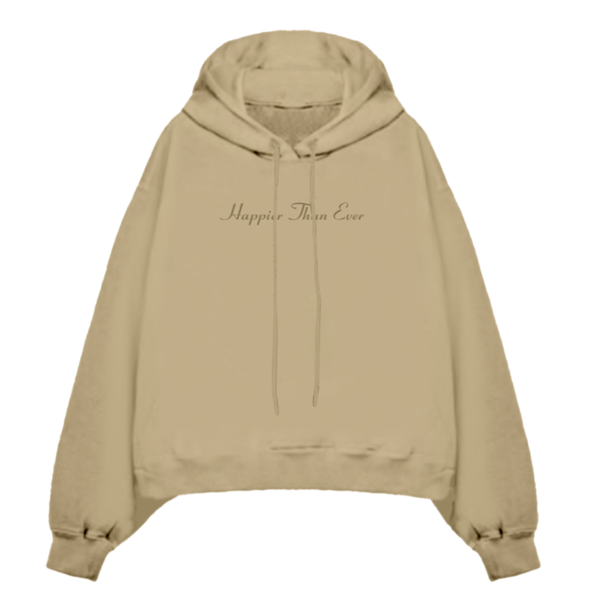 Billie Eilish: Happier Than Ever Hooded Sweatshirt