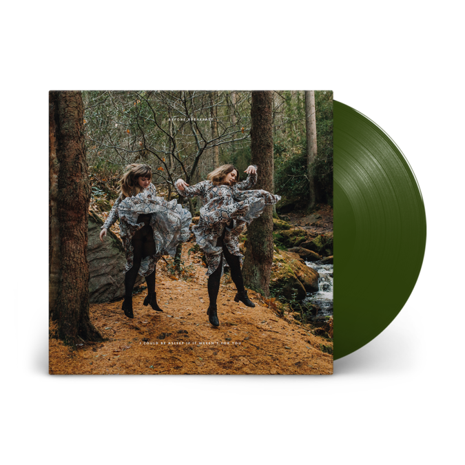 Before Breakfast: I Could Be Asleep If It Weren't For You: Signed Forest Green Vinyl LP