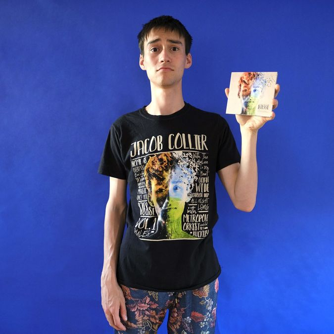 Jacob Collier: Djesse Vol.1 Tee & CD Bundle