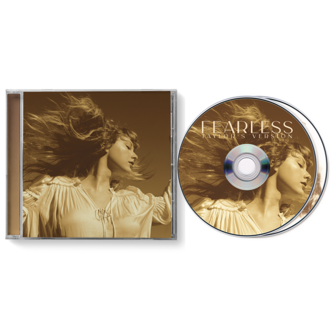 Taylor Swift: Fearless (Taylor's Version) 2CD