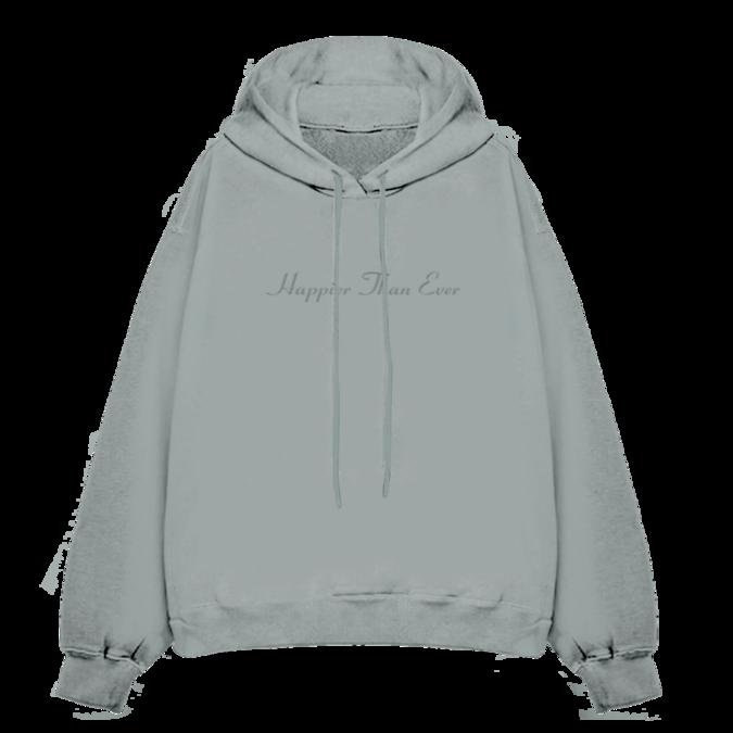 Billie Eilish: Happier Than Ever Hooded Sweatshirt