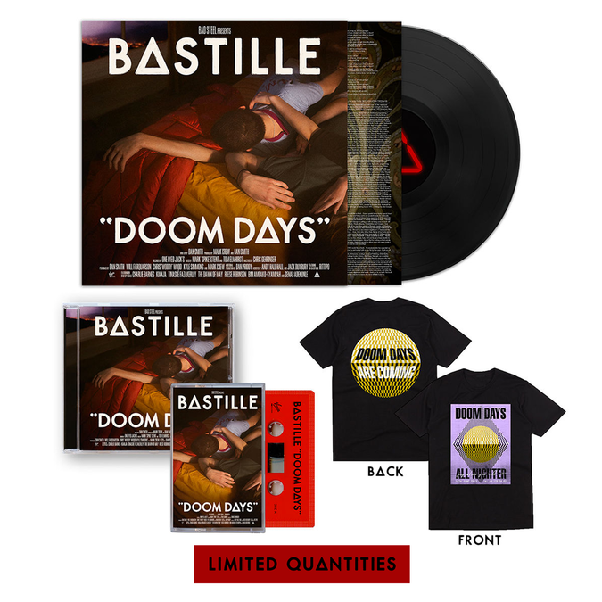 Bastille: Doom Days Joy Bundle -  CD, LP, Cassette & Tee Bundle
