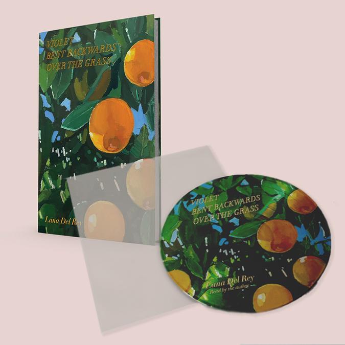 Lana Del Rey: Violet Bent Backwards Over The Grass: Picture Disc Vinyl + Poetry Book