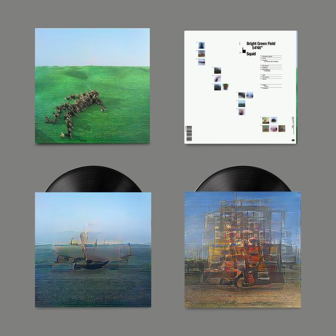 Squid: Bright Green Field: Signed Exclusive Gatefold Vinyl