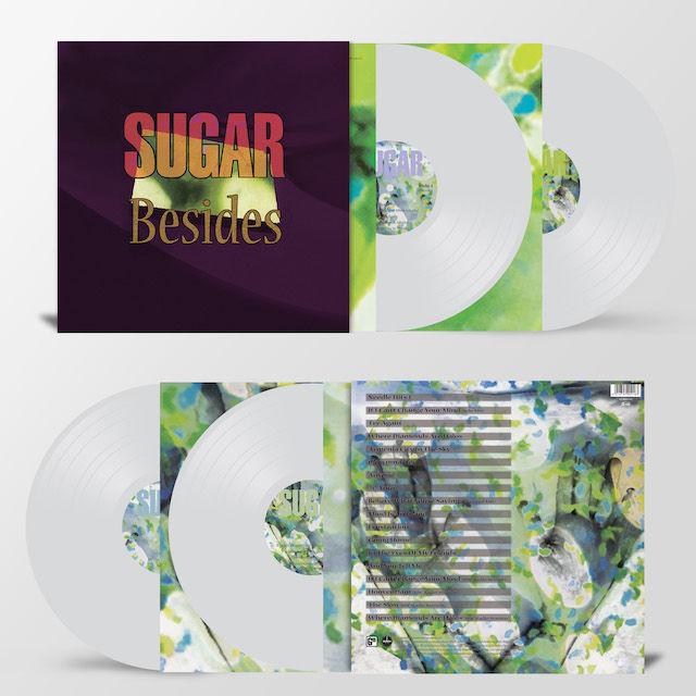 Sugar: Besides: Limited Edition Heavyweight Clear Vinyl
