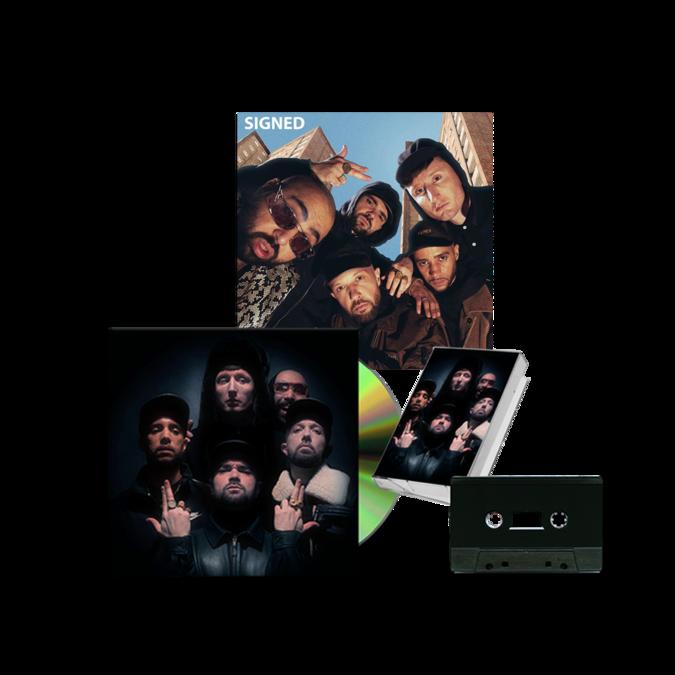 KURUPT FM: THE GREATEST HITS (PART 1): CD + CASSETTE + SIGNED ART CARD