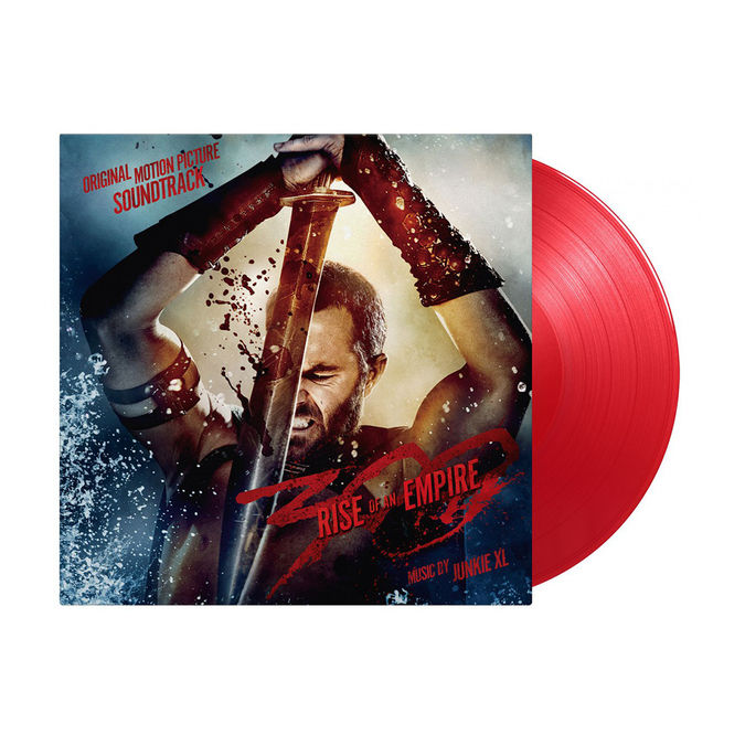 Original Soundtrack: 300 - Rise of an Empire: Limited Edition Translucent Red Vinyl