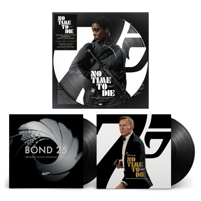 Hans Zimmer: Bond, James Bond Deluxe LP Bundle