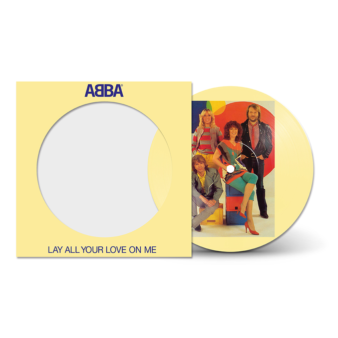 Abba: Lay All Your Love On Me: Limited Edition Picture Disc