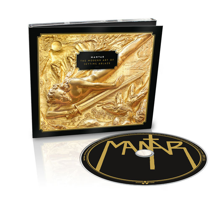 MANTAR: The Modern Art Of Setting Ablaze: Limited Digipack
