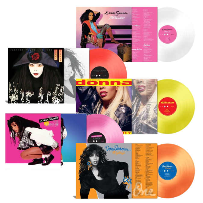 Donna Summer: Donna Summer: Studio Albums 180gm Colour Vinyl Bundle