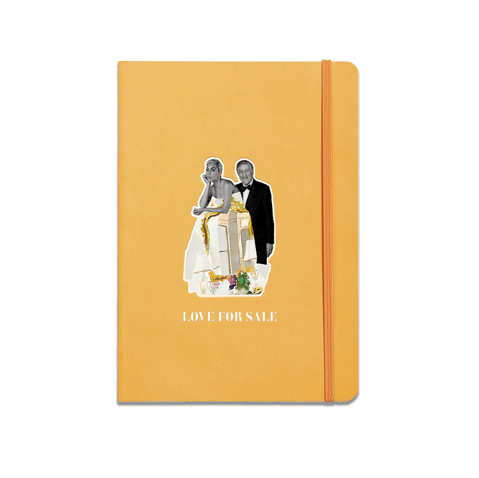 Lady Gaga: LOVE FOR SALE NOTEBOOK