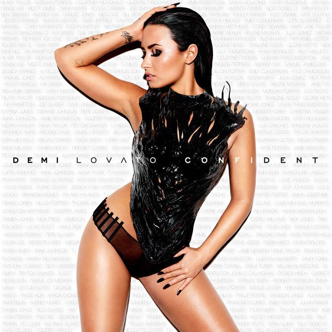 Demi Lovato,: Confident Fanified Poster