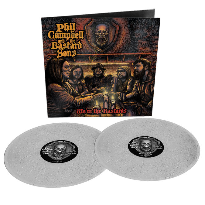 Phil Campbell: We Are The Bastards: Limited Edition Gatefold Double Sparkle Vinyl