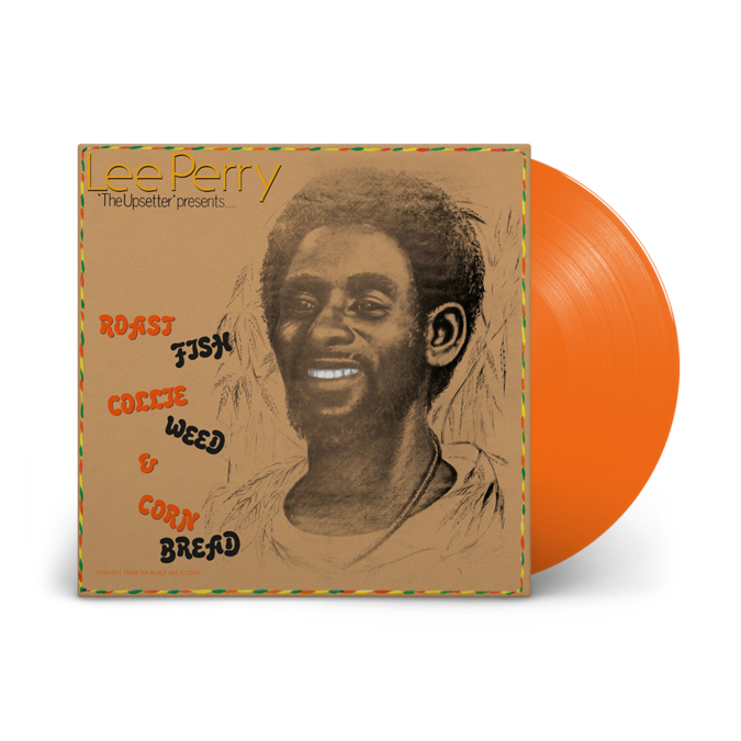 Lee Perry: Roast Fish Collie Weed and Cornbread: Limited Edition Orange Vinyl LP