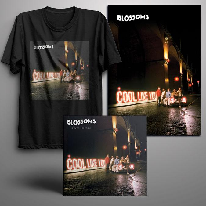 Blossoms: Signed Deluxe CD + Digital Album + T-Shirt + Signed Art Print