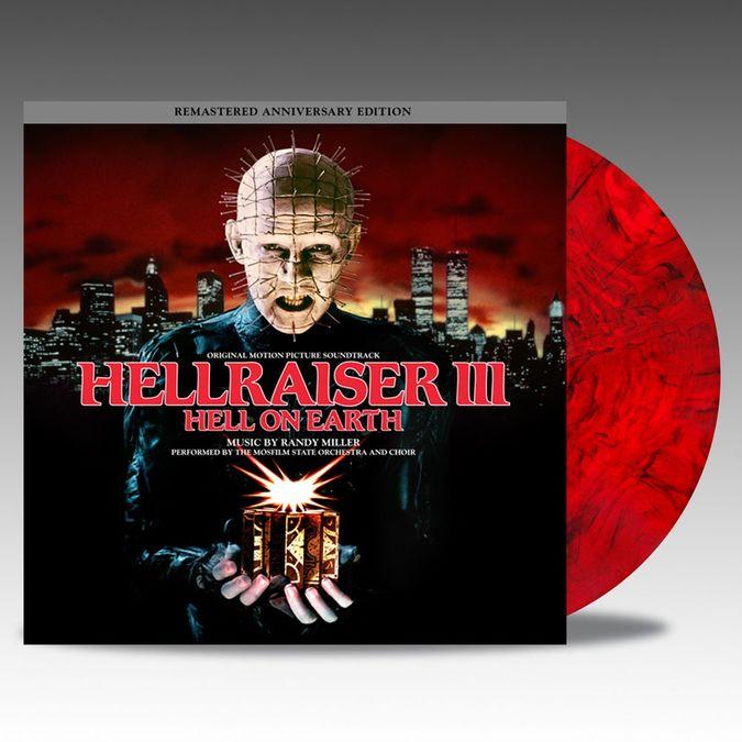 Original Soundtrack: Hellraiser III: Hell On Earth: Blood Red & Black Smoke Coloured Vinyl
