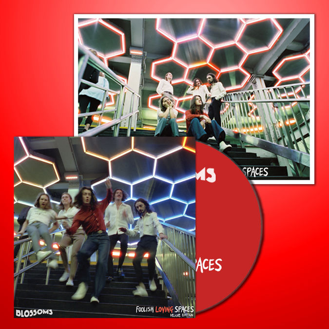 Blossoms: Foolish Loving Spaces Signed Deluxe 2CD + Print