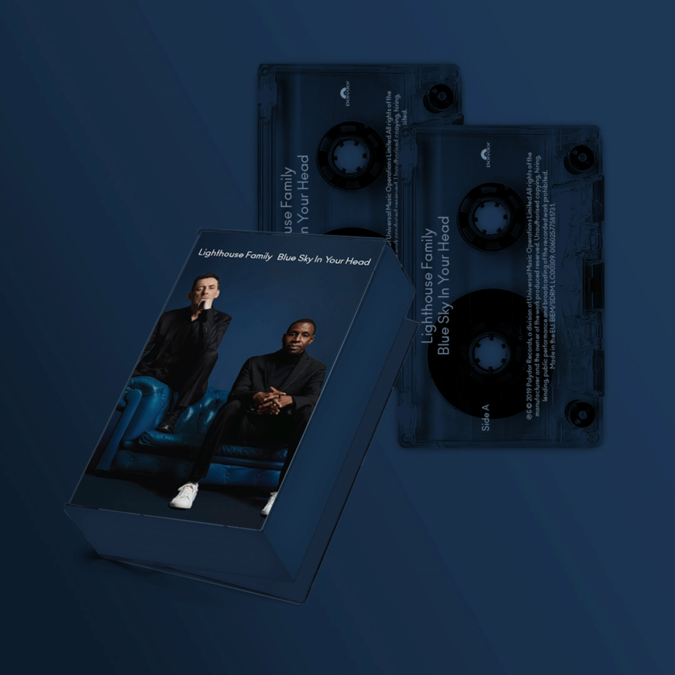 Lighthouse Family: Blue Sky In Your Head Double Cassette