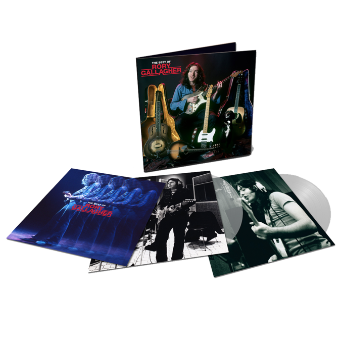 Rory Gallagher: The Best Of: Exclusive Double Clear Vinyl