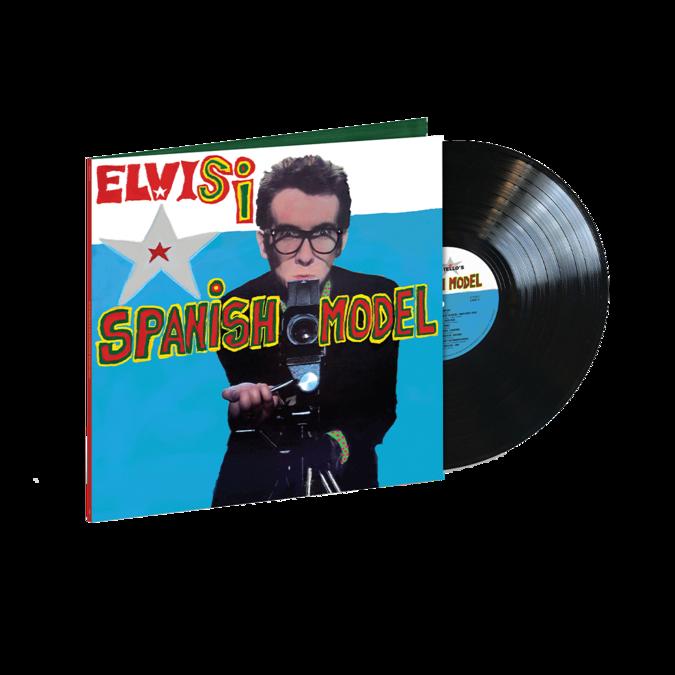 Elvis Costello & The Attractions: Spanish Model: Standard Single Vinyl