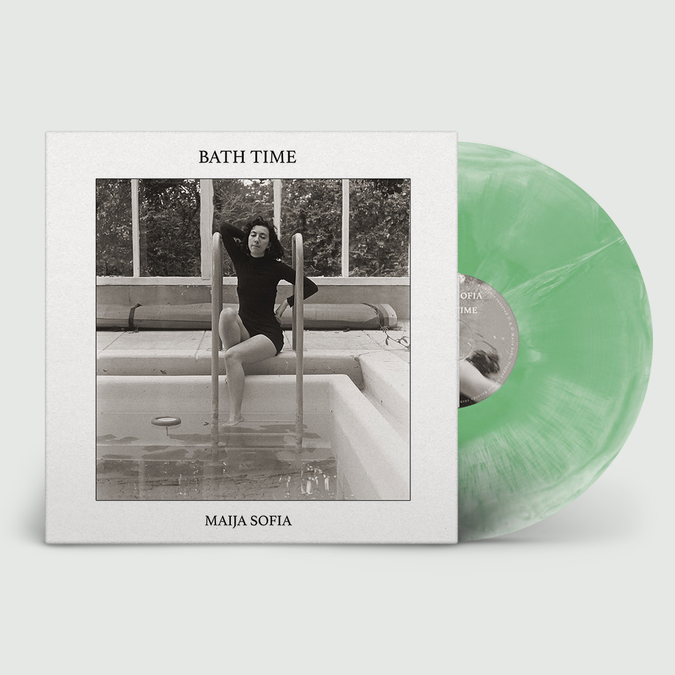 Maija Sofia: Bath Time (Anniversary Edition): Exclusive 180gm Green + White Marble Vinyl + Signed / Numbered Print