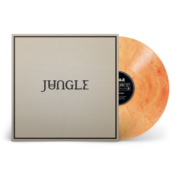 Jungle: Loving In Stereo: Recordstore Exclusive Orange Sunburst Vinyl LP [UK only]