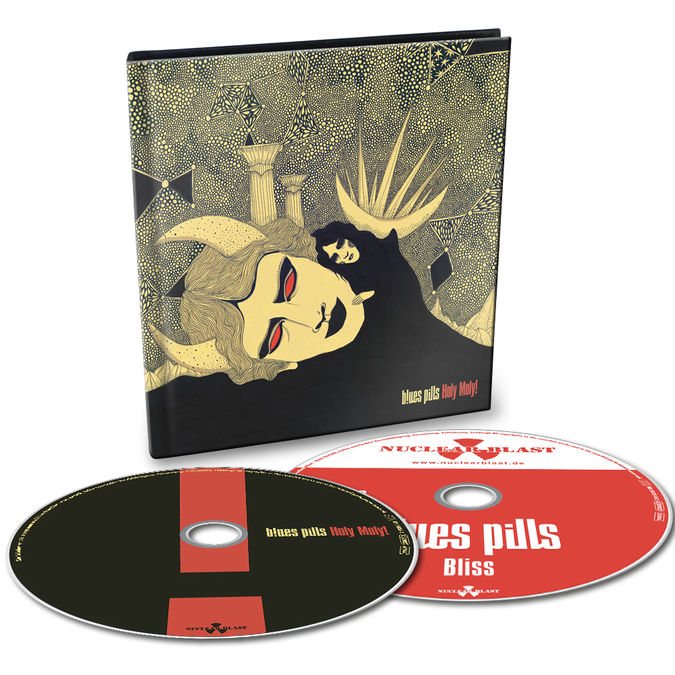 Blues Pills: Holy Moly! Limited Edition 2CD Digibook + Signed Photocard